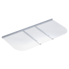 "58"" x 26"" Rectangular Basement Window Well Cover: click to enlarge"