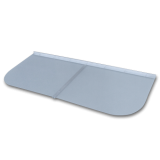 "EL500 48"" x 21"" Rectangle Window Well Cover"